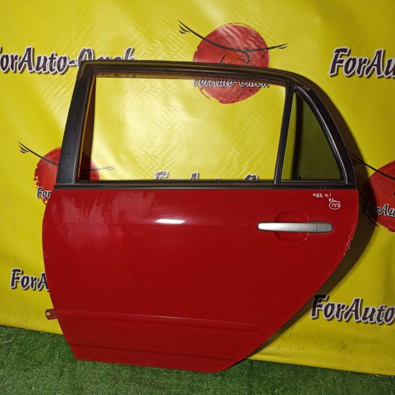 Дверь Toyota Corolla Runx NZE121 1NZ-FE 2005 задняя левая (б/у)
