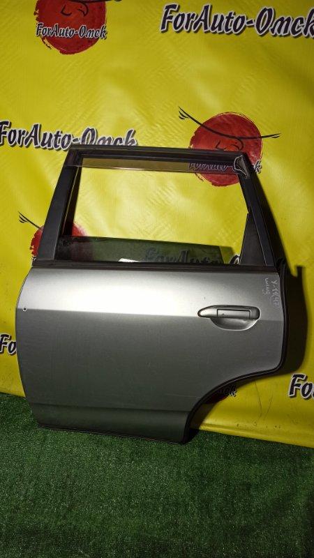 Дверь Nissan Wingroad WFY11 QG15-DE 2002 задняя левая (б/у)
