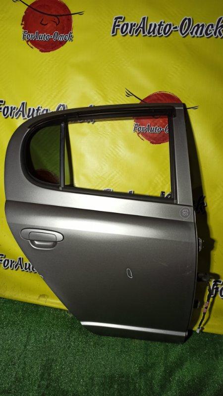 Дверь Toyota Vitz SCP13 2SZ-FE 2003 задняя правая (б/у)