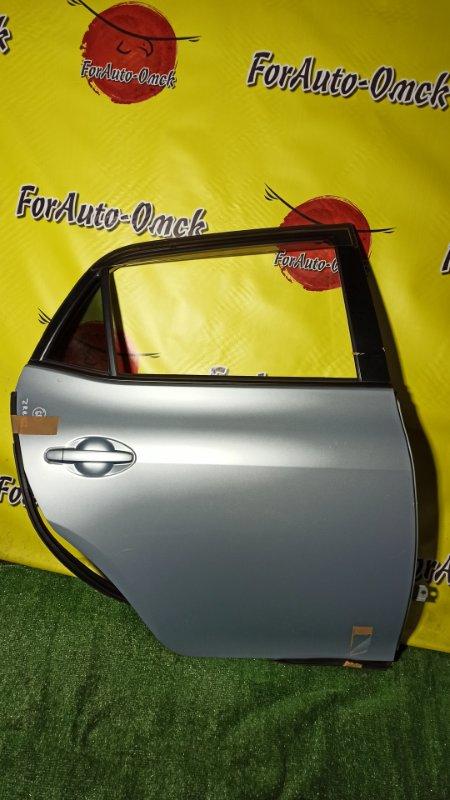 Дверь Toyota Auris ZRE152 2ZR-FE 2008 задняя правая (б/у)