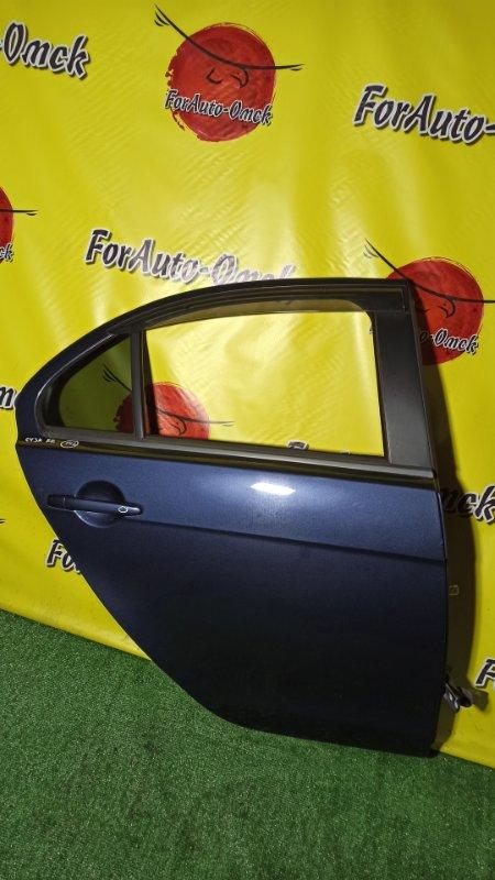 Дверь Mitsubishi Galant Fortis CY3A 4B10 2010 задняя правая (б/у)