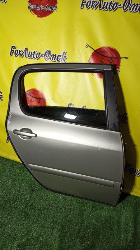 Дверь Peugeot 307 3A/C EW10AF 2009 задняя правая (б/у)