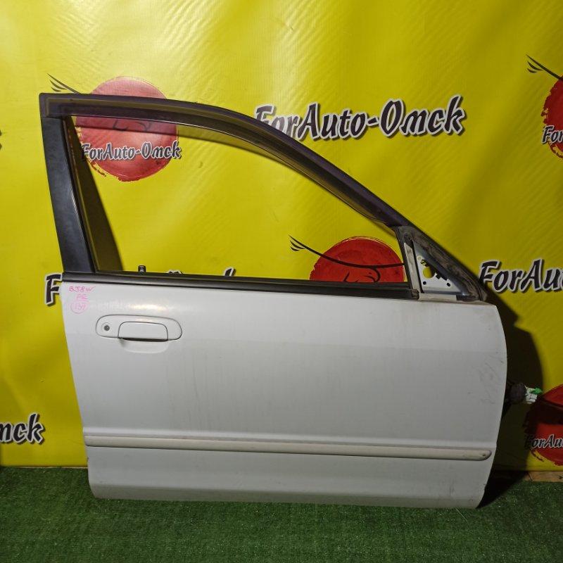 Дверь Mazda Familia BJ8W FP-DE 1999 передняя правая (б/у)