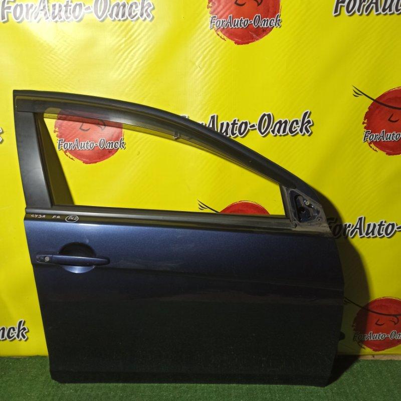 Дверь Mitsubishi Galant Fortis CY3A 4B10 2010 передняя правая (б/у)