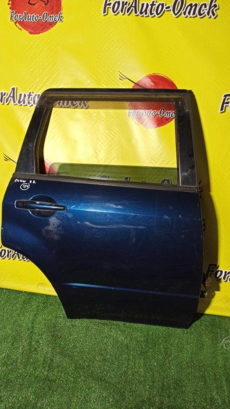 Дверь Mitsubishi Airtrek CU4W 4G64 2003 задняя правая (б/у)
