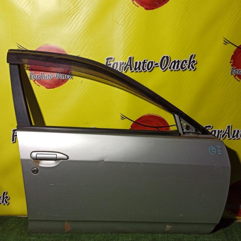 Дверь Nissan Wingroad WFY11 QG15DE 2000 передняя правая (б/у)