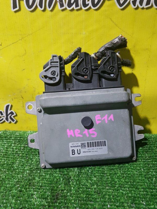 Блок управления efi Nissan HR15 (б/у)
