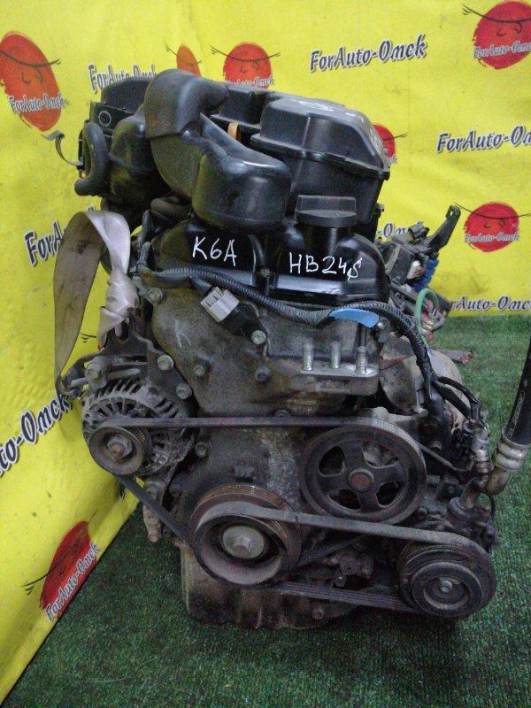 Двигатель Mazda Carol HB24S K6A (б/у)