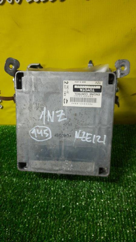 Блок управления efi Toyota Corolla Spacio NZE121 1NZ-FE 2004 (б/у)