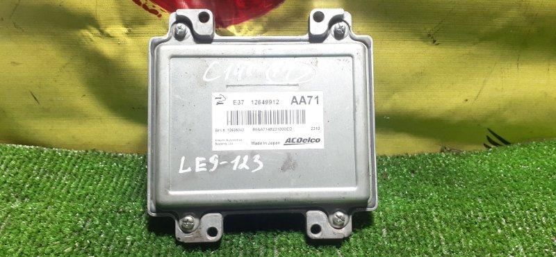 Блок управления efi Chevrolet Captiva C140 LE9 2013 (б/у)