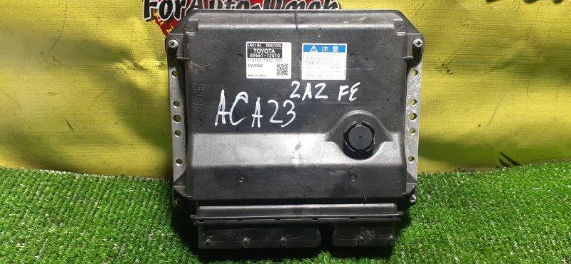Блок управления efi Toyota Rav4 ACA23 2AZ-FE (б/у)