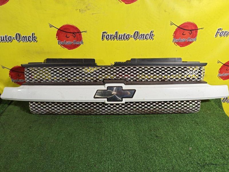 Решетка радиатора Chevrolet Trailblazer GMT360 LL8 (б/у)