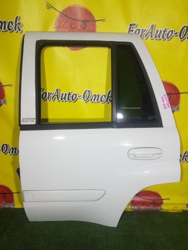 Дверь Chevrolet Trailblazer GMT360 LL8 задняя левая (б/у)