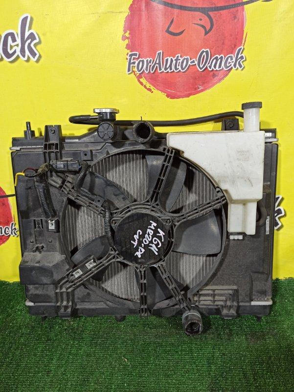 Радиатор двс Nissan Bluebird Sylphy KG11 MR20DE (б/у)