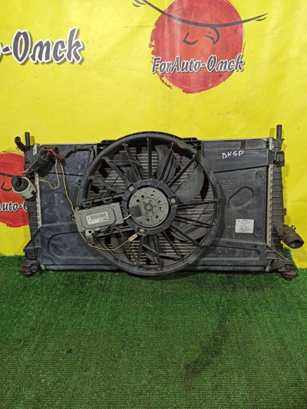 Радиатор двс Mazda Axela BK AODA (б/у)