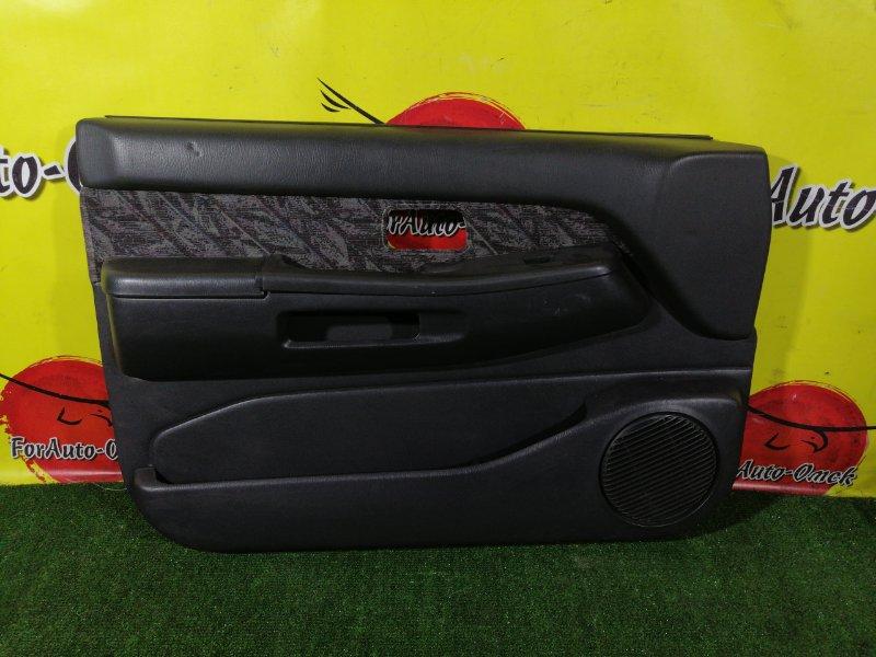 Обшивка дверей Nissan Terrano LR50 VG33E 1996 передняя (б/у)