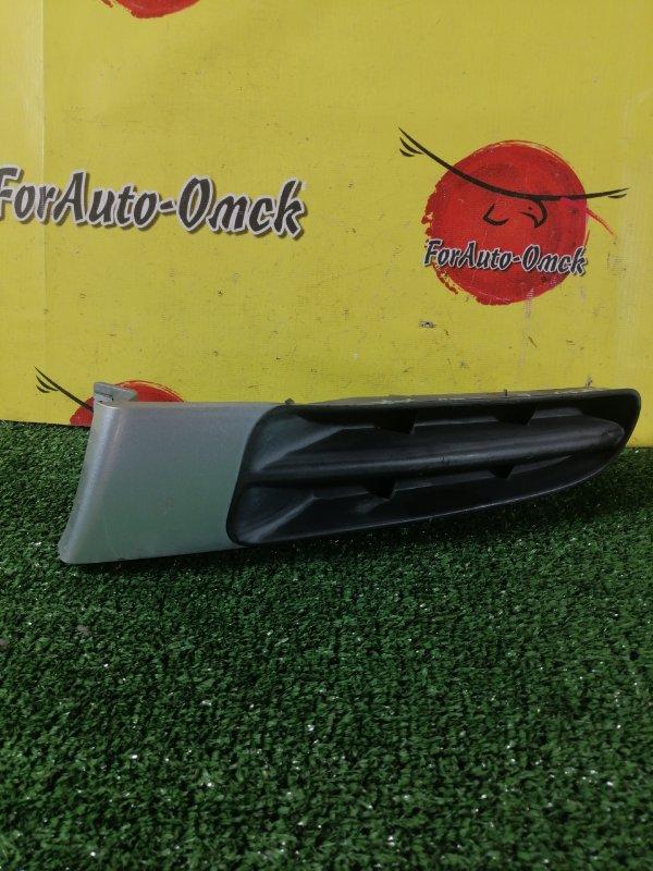 Заглушка бампера Toyota Ipsum SXM10G 3S-FE передняя левая (б/у)