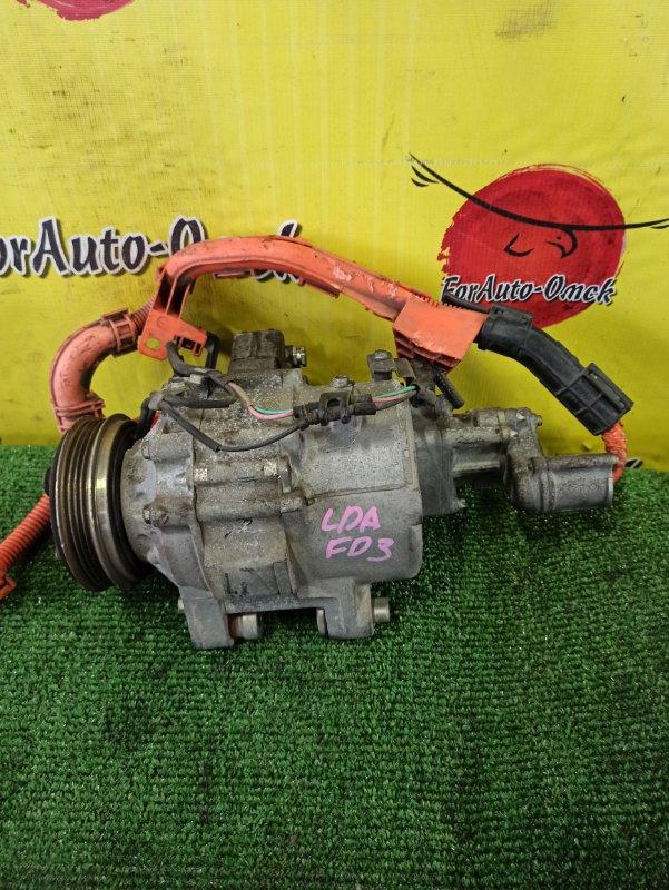 Компрессор кондиционера Honda Civic Hybrid FD3 LDA MF5 (б/у)