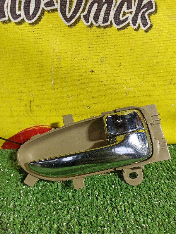 Ручка двери внутренняя Nissan Blubebird Sylphy G11 задняя правая (б/у)
