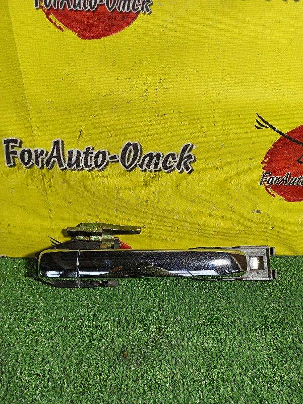 Ручка двери внешняя Nissan Blubebird Sylphy G11 задняя правая (б/у)