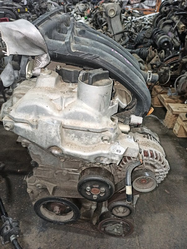 Двигатель Nissan March YK12 HR15 2007 (б/у)