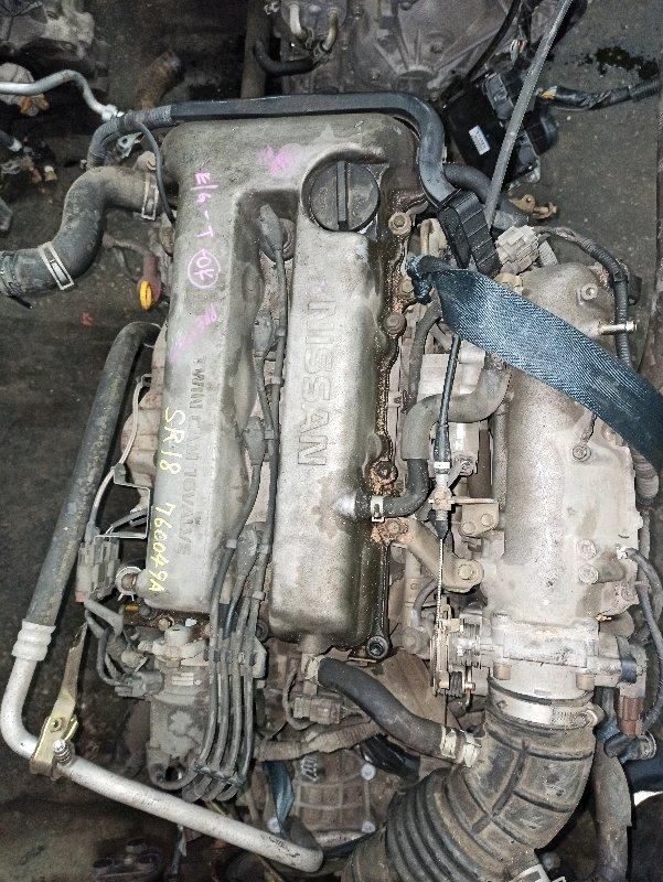 Двигатель Nissan Primera P11 SR18-DE 1996 (б/у)