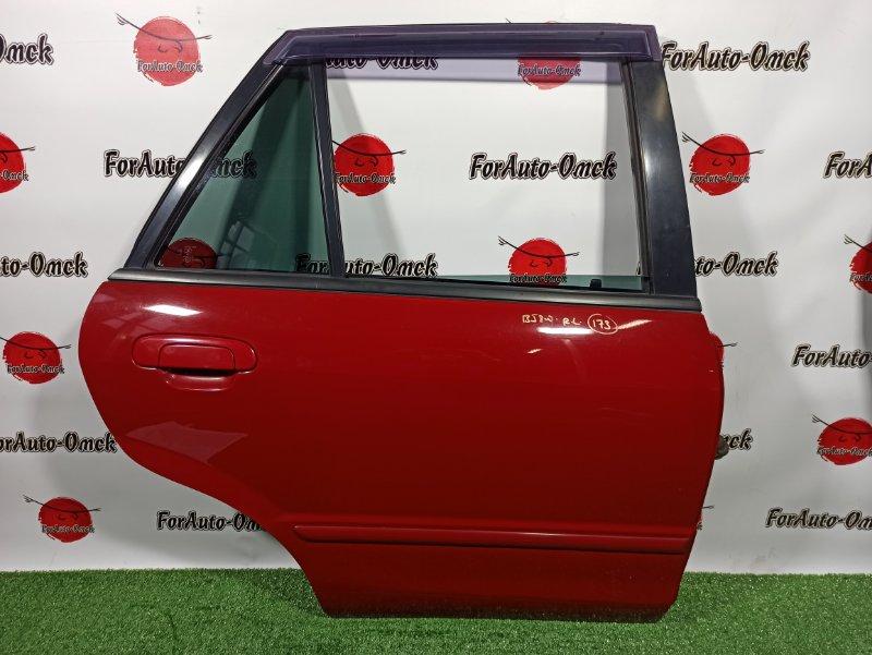 Дверь Mazda Familia S-Wagon BJ8W FP-DE 1999 задняя правая (б/у)