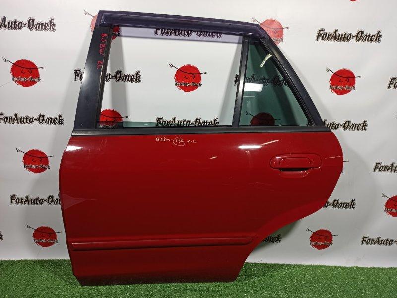 Дверь Mazda Familia S-Wagon BJ8W FP-DE 1999 задняя левая (б/у)