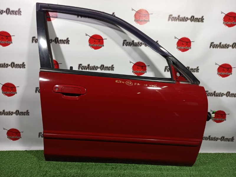 Дверь Mazda Familia S-Wagon BJ8W FP-DE 1999 передняя правая (б/у)