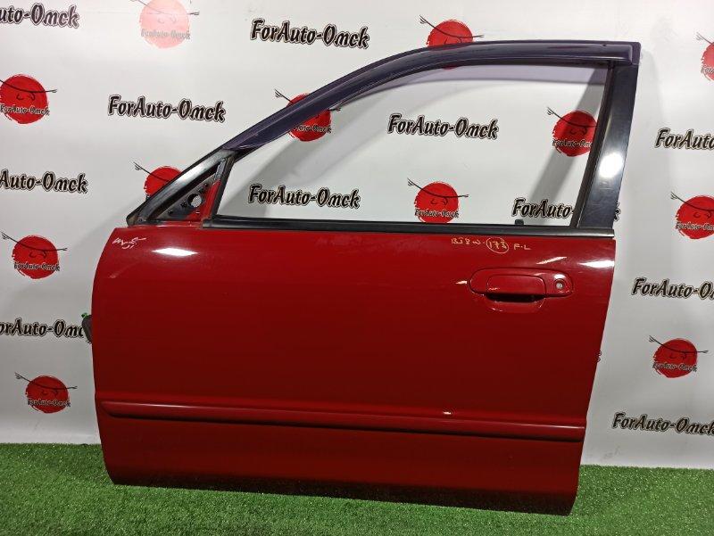 Дверь Mazda Familia S-Wagon BJ8W FP-DE 1999 передняя левая (б/у)