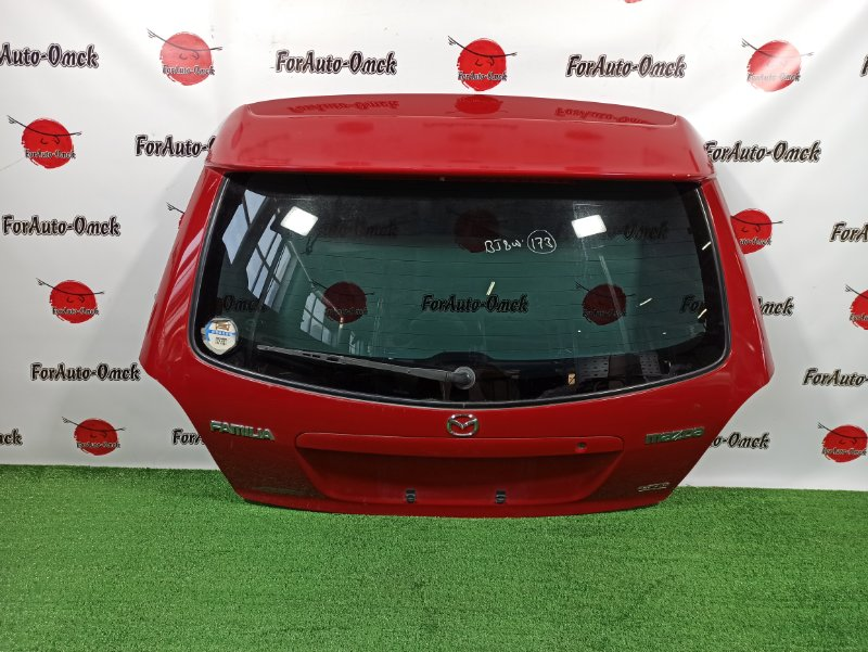 Дверь 5-я Mazda Familia S-Wagon BJ8W FP-DE 1999 (б/у)