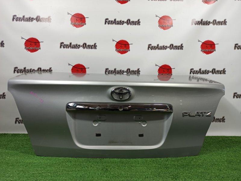 Крышка багажника Toyota Platz SCP11 1SZ-FE 2003 (б/у)