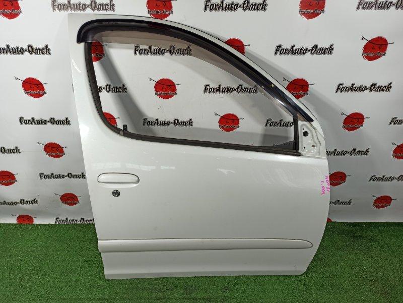 Дверь Toyota Funcargo NCP20 передняя правая (б/у)