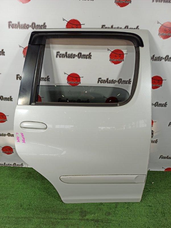 Дверь Toyota Funcargo NCP20 задняя правая (б/у)