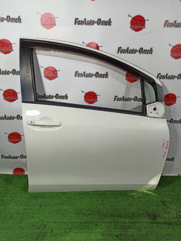 Дверь Toyota Vitz KSP90 передняя правая (б/у)