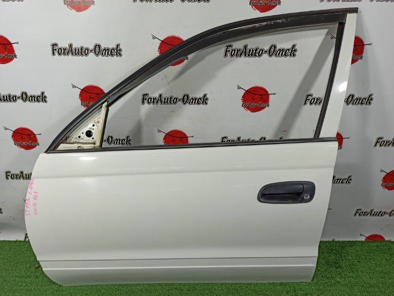 Дверь Toyota Caldina Van ST198V 3S-FE 2001 передняя левая (б/у)