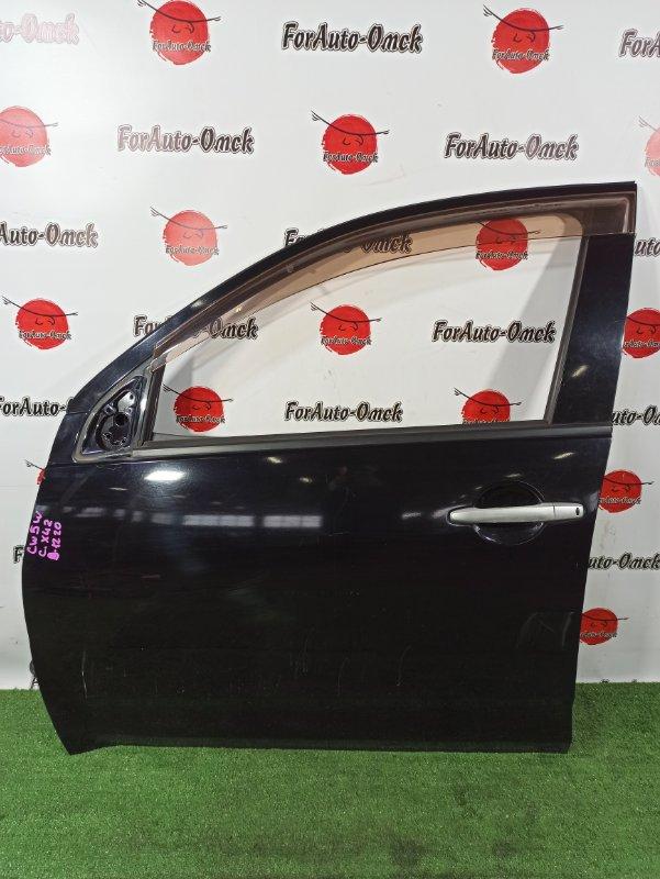 Дверь Mitsubishi Outlander CW4W передняя левая (б/у)