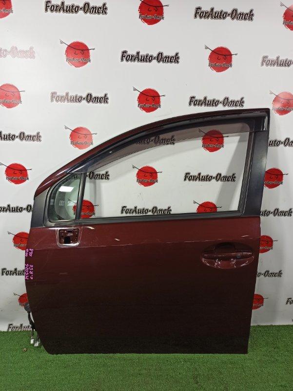Дверь Daihatsu Boon Luminas M502G 3SZ-VE передняя левая (б/у)
