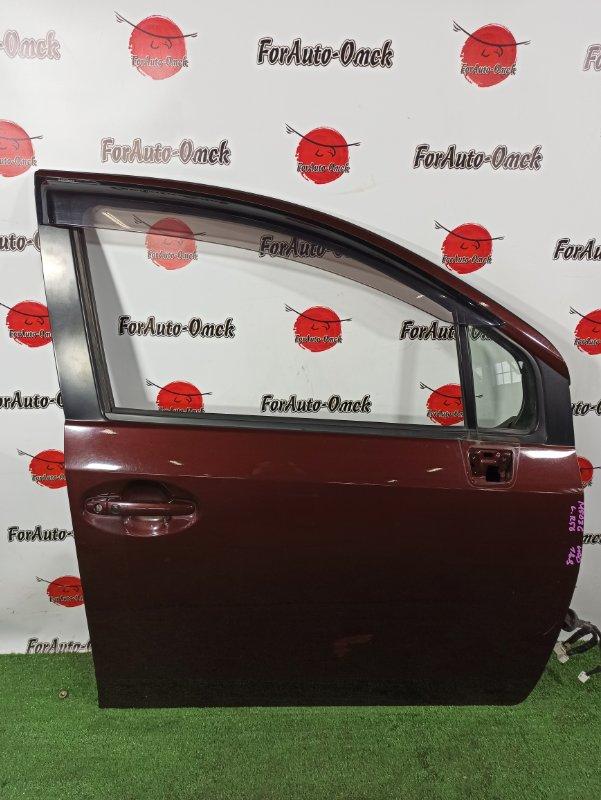 Дверь Daihatsu Boon Luminas M502G 3SZ-VE передняя правая (б/у)