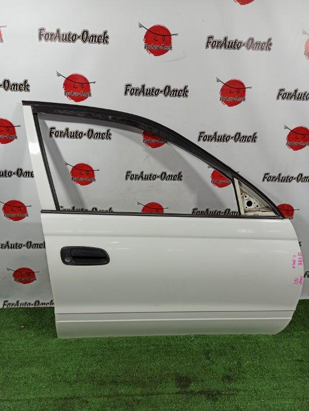Дверь Toyota Caldina Van ST198V 3S-FE 2001 передняя правая (б/у)