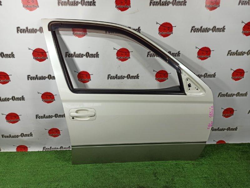 Дверь Toyota Vista ZZV50 1ZZ-FE 2000 передняя правая (б/у)