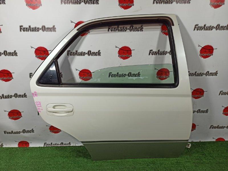 Дверь Toyota Vista ZZV50 1ZZ-FE 2000 задняя правая (б/у)