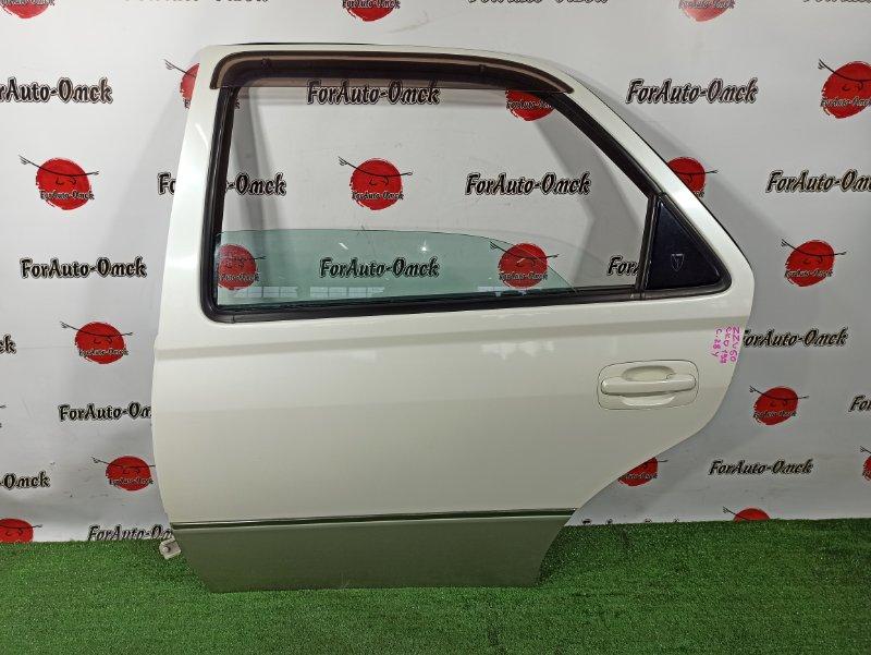 Дверь Toyota Vista ZZV50 1ZZ-FE 2000 задняя левая (б/у)