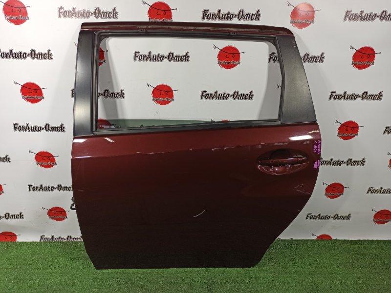 Дверь Daihatsu Boon Luminas M502G 3SZ-VE задняя левая (б/у)