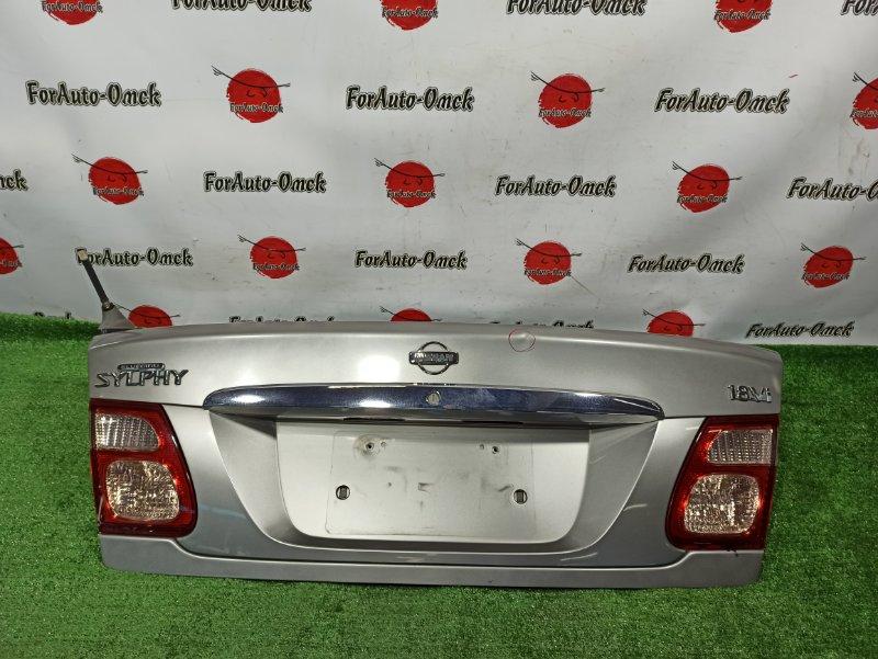 Крышка багажника Nissan Almera FG10 (б/у)