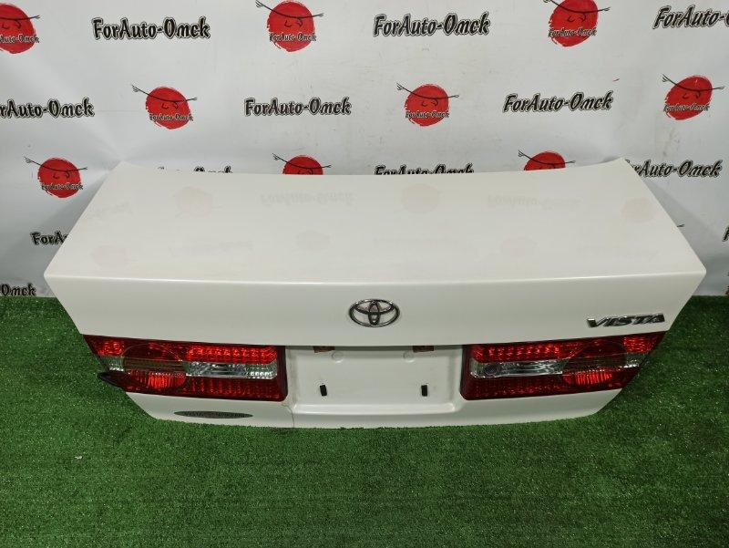 Крышка багажника Toyota Vista ZZV50 1ZZ-FE 2000 (б/у)