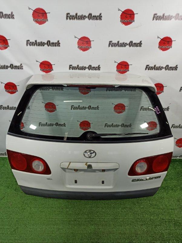 Дверь 5-я Toyota Caldina CALDINA AT211 (б/у)