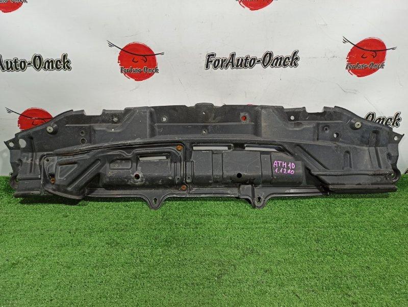 Защита бампера Toyota Alphard ANH10W передняя (б/у)