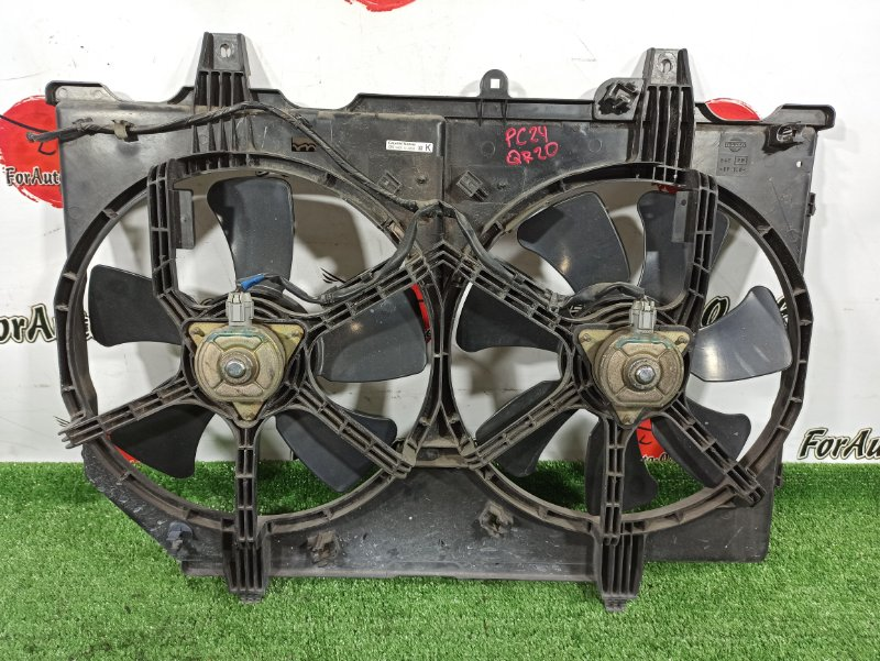Диффузор радиатора Nissan Bassara JTNU30 QR20-DE (б/у)
