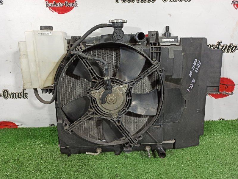 Радиатор двс Nissan Cube BNZ11 CR12-DE (б/у)
